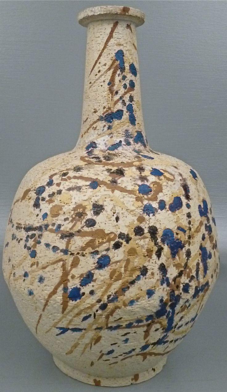 Marcello Fantoni; Glazed Earthenware Vase  for Raymor, 1950s.