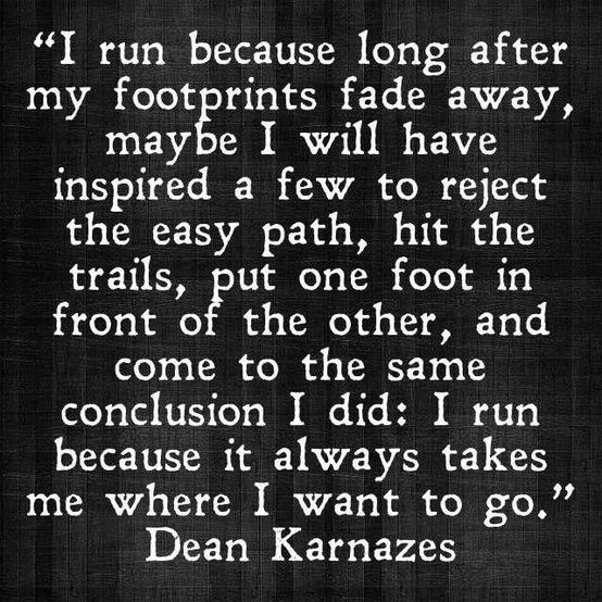 Image result for half marathon training one foot in front of the other quotes