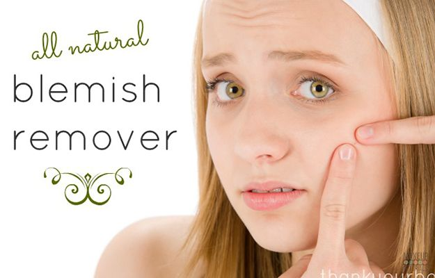 Diy Natural Blemish Remover