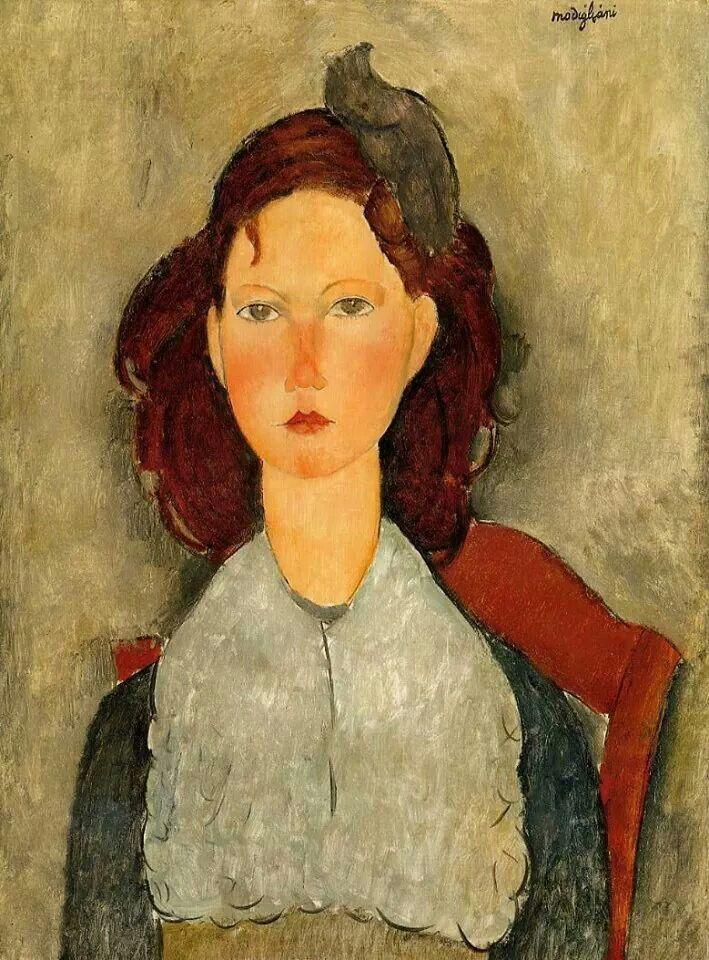Modigliani - Ragazza seduta