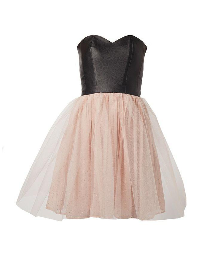 BLACKEYED SUSAN | Back Before Sunrise Dress in Black and Pale Pink - Women - Style36  #style36 #xmasshopping #wishlist
