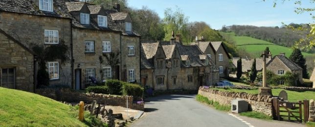 Cotswolds.  It really looks just like this!