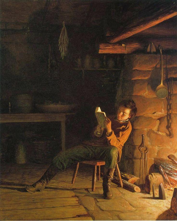 John Eastman - The Boyhood of Abraham Lincoln