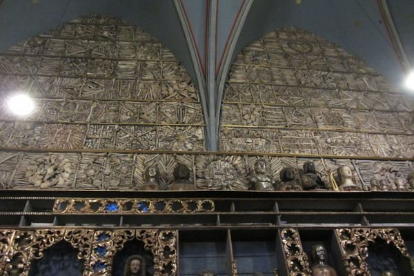 A church filled with the bones of hundreds of virgins martyrs—or so they say.