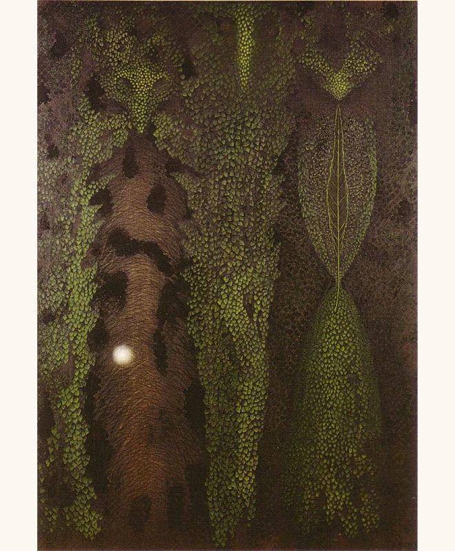 Toyen (Marie Cermínová) (1902-1980) - Slovak night, 1960