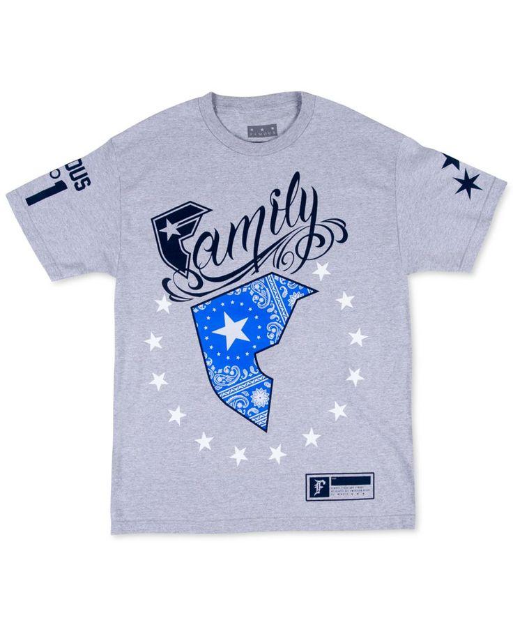 Famous Stars and Straps Men's Wild Patriot T-Shirt