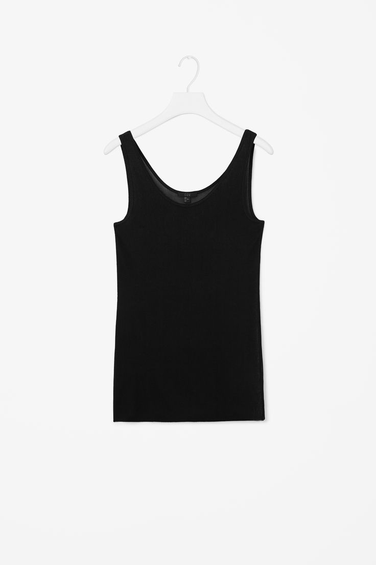 COS | Sheer silk vest top