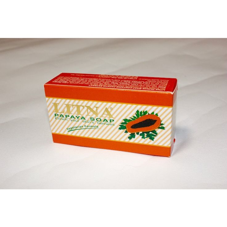 LITNA パパイヤ石鹸は、新しい皮膚細胞の成長を助ける新鮮なパパイヤの果実の抽出物から作られています。パパイアの果物Papinに含まれる活性成分は、肌の均質化を促進し肌の健康としなやかさを保ちます。新しい皮膚細胞を促進することによって肌の再生プロセスを助けます。使用方法:石鹸をとり手で泡立ててください。 顔に泡をつけ水で洗い流す前に穏やかにマッサージしてください。