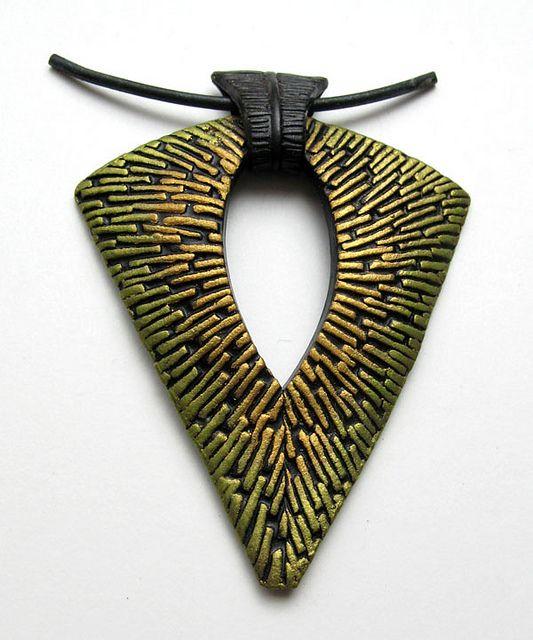 polymer clay jewelry by Helen Breil
