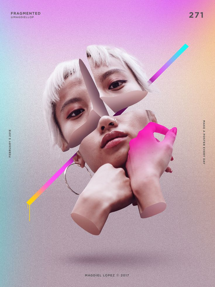 Great poster - like the magenta tone on the hand