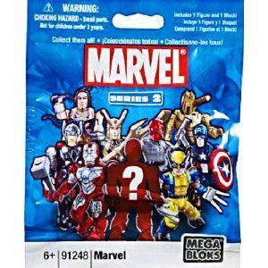 Toys Marvel Comics Mega Bloks Blind Bag Comic Books