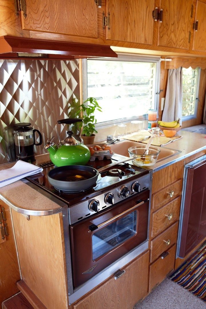 1000 images about camper stoves on pinterest vintage - Rv kitchen appliances ...