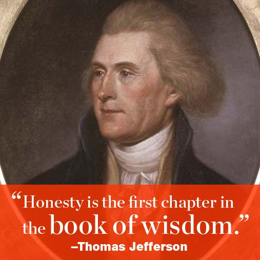A few inspirational words from our country's famous leaders, this one by Thomas Jefferson. http://www.menshealth.com/best-life/great-presidential-quotes