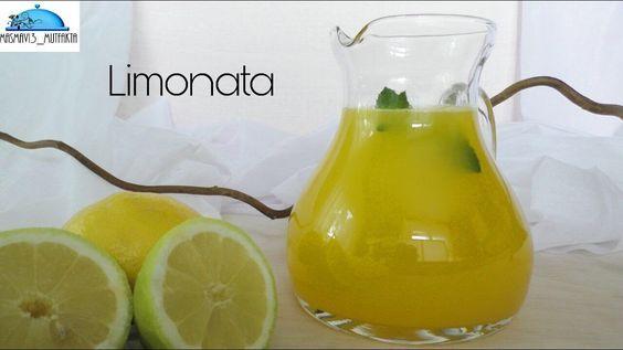 Ev yapimi  Limonata Tarifi |Doğal rengi ve tüm lezzeti ile| Ramazan Tari...