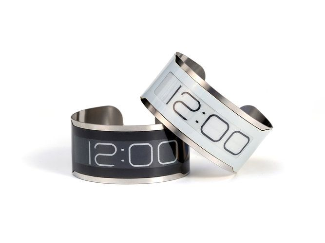 1   Kickstarting: The Thinnest Watch Ever Made, With An E-Ink Display   Co.Design: business + innovation + design