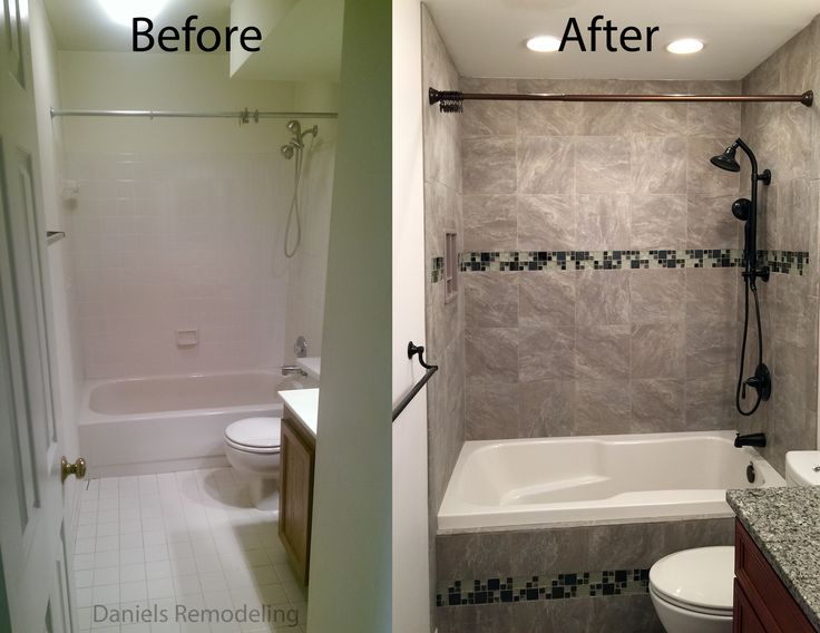 before and after hall bathroom remodel alexandria virginia contact us today for your free