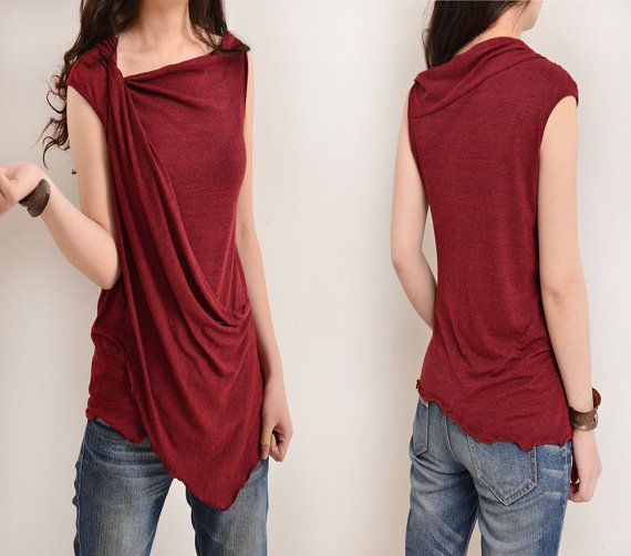 My Zen 2 draping tank top Y3112 by idea2lifestyle on Etsy
