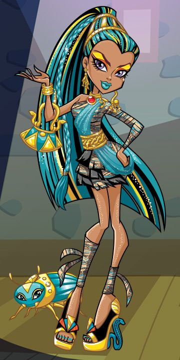 Best 25 monster high characters ideas on pinterest monster high monster girl wiki and all - Nefera de nile ...