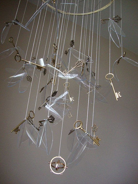 Dream Mobile, fliegende Schlüssel, Decor Mobile, Baby Mobile hängen, Kindergarten Mobile, Party Decor, Office Mobile