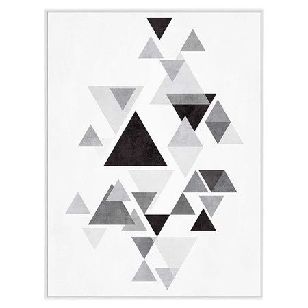 Equally at home in an artful collage or displayed on its own as an eye-catching focal point, this framed giclee print showcases an abstract motif for stylish...