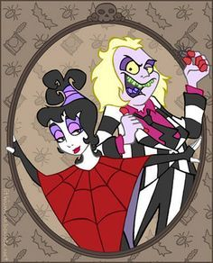 Image result for beetlejuice cartoon stencil