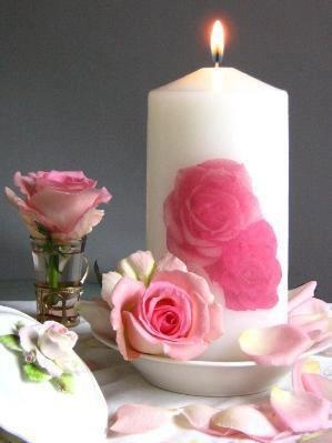 1000+ ideas about Rose Candle on Pinterest | Beautiful ...