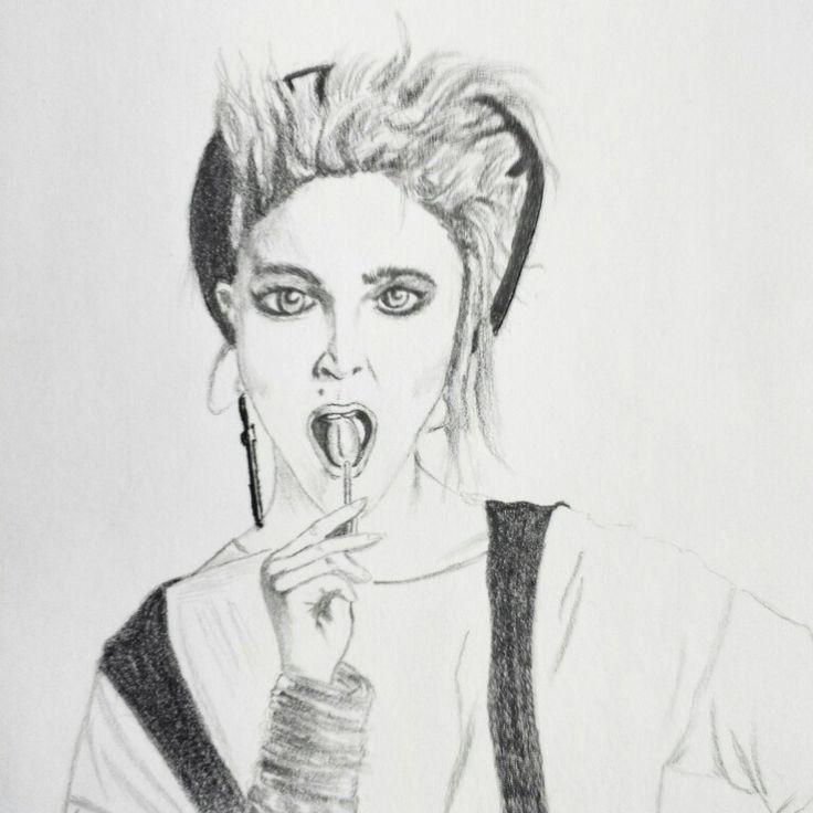 Madonna Sketch