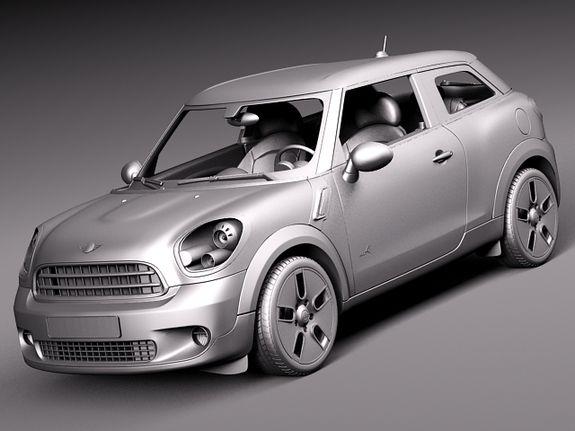 Mini Cooper SUV | Mini_cooper_paceman_all4_2014_grey_0000