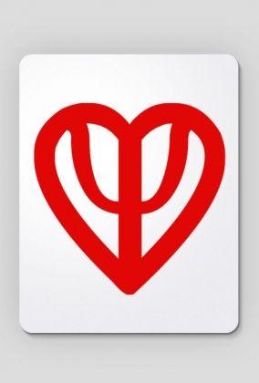 Podkładka serce czerwona, 24,00 zł, #psychologia, #psychology, #psychopraca, #cupsell, #gifts, #prezenty, #psi #heart