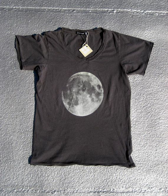 Full Moon Screenprinted Tee Shirt
