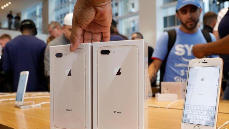 Apple resuelve los crujidos del iPhone 8 - Expansión MX
