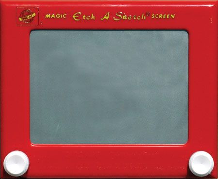 Pizarrón mágico...sólo podías usar las rueditas para dibujar, jajaja,,,tenía un primo que siempre me la prestaba.