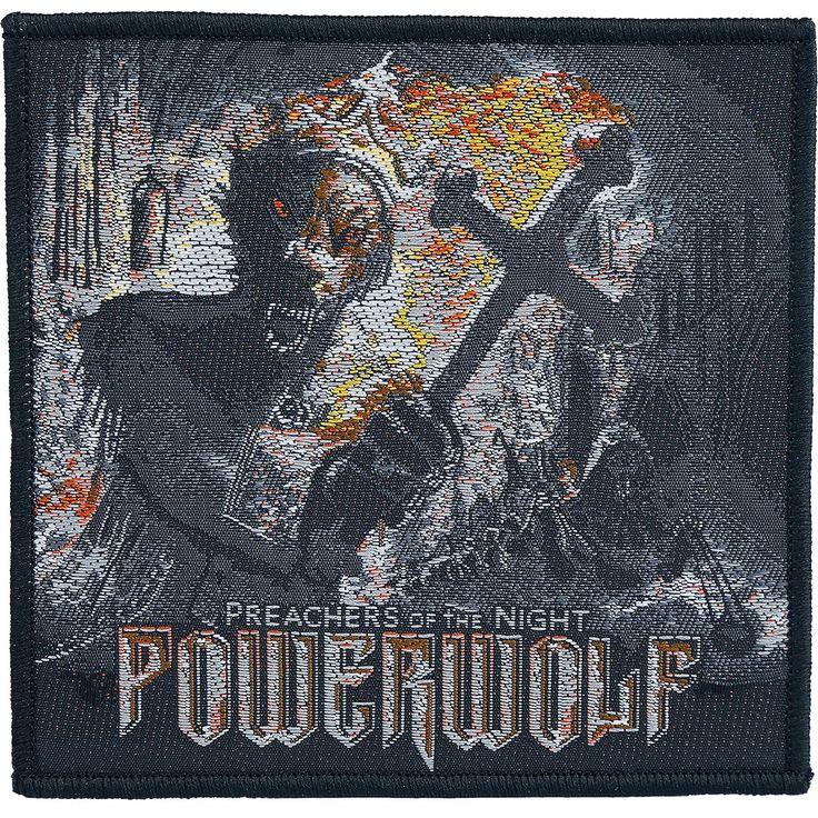 Patch Powerwolf »Preachers of the night«   Dispo chez EMP   Plus de Patchs Merchandising de groupes sur notre site en ligne ✓ Prix imbattables !