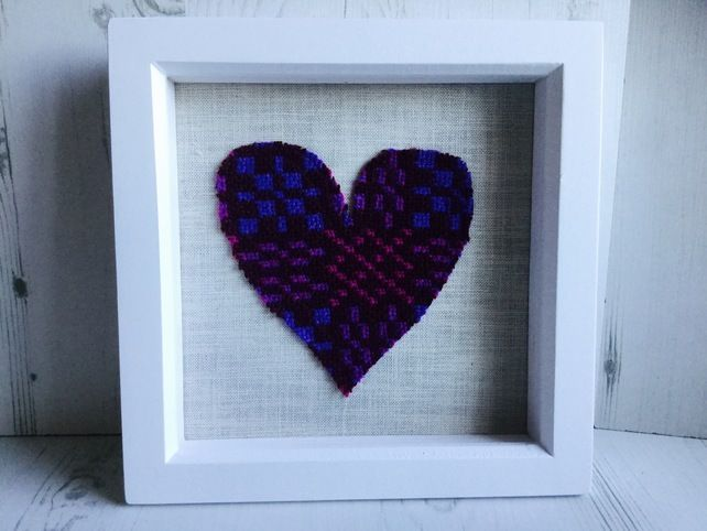 Welsh Tapestry Heart Picture £18.00