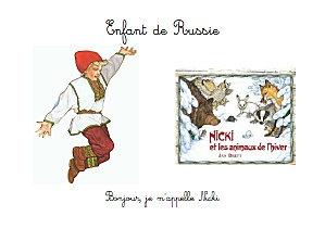 """Livret sur la Russie dans le cadre d'un projet """"enfants du monde""""."""