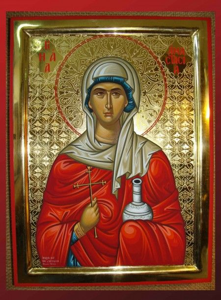 St. Anastasia the Healer of Rome - October 29