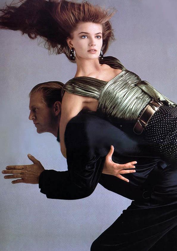 Paulina Porizkova & Hoyt Richards by Richard Avedon, 1986 ...