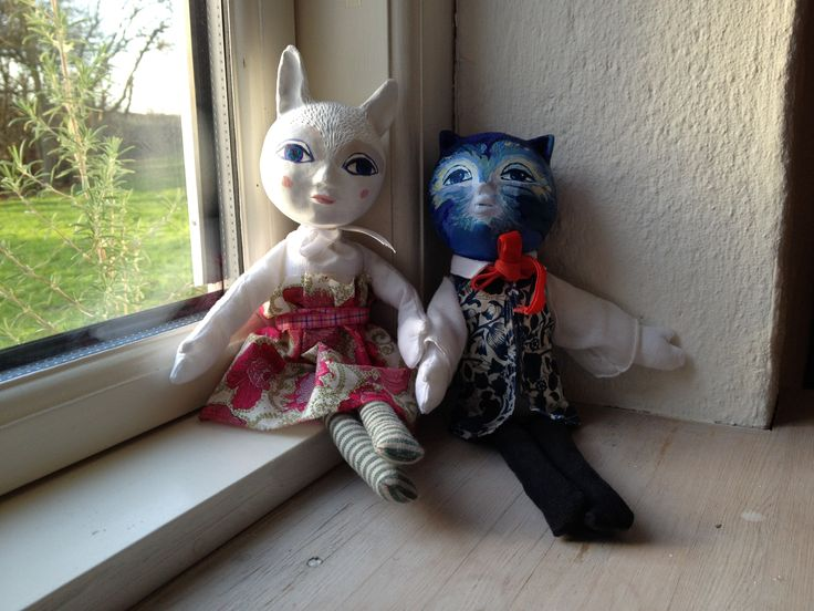 bunny girl and cat doll