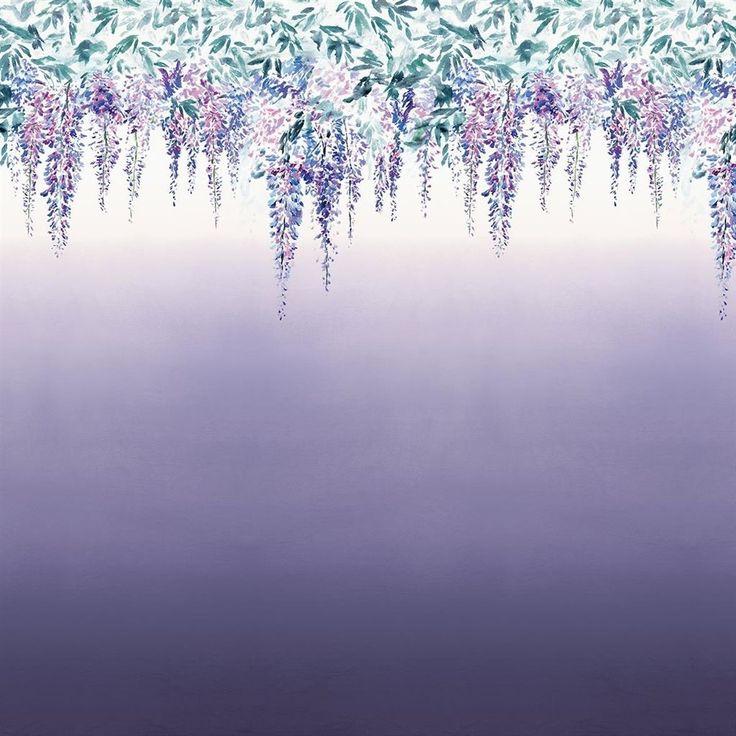 summer palace - grape wallpaper   Designers Guild