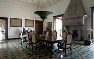 palazzo belmonte's old dining room