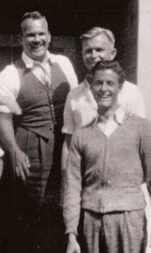 Top to bottom: Tex Avery, Chuck Jones and Bob Clampett