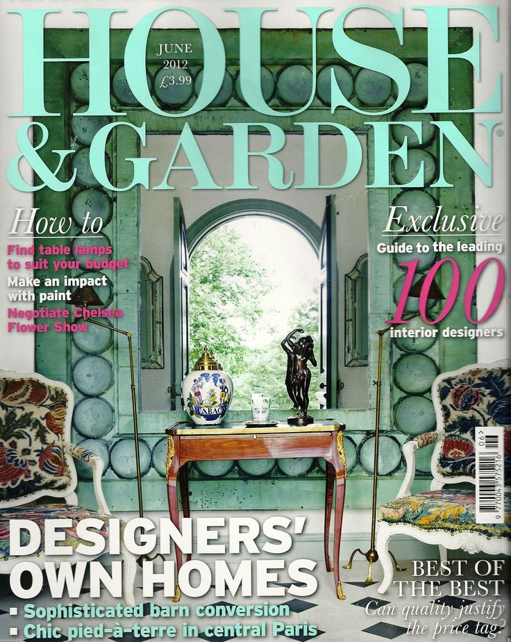 Featured In The House Garden Top 100 Interior Designers