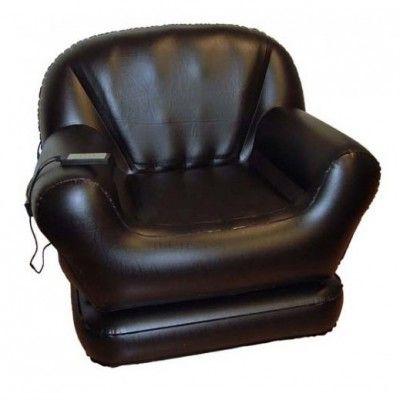 Le fauteuil massant gonflable - Maison - www.cadeauxgadgets.com
