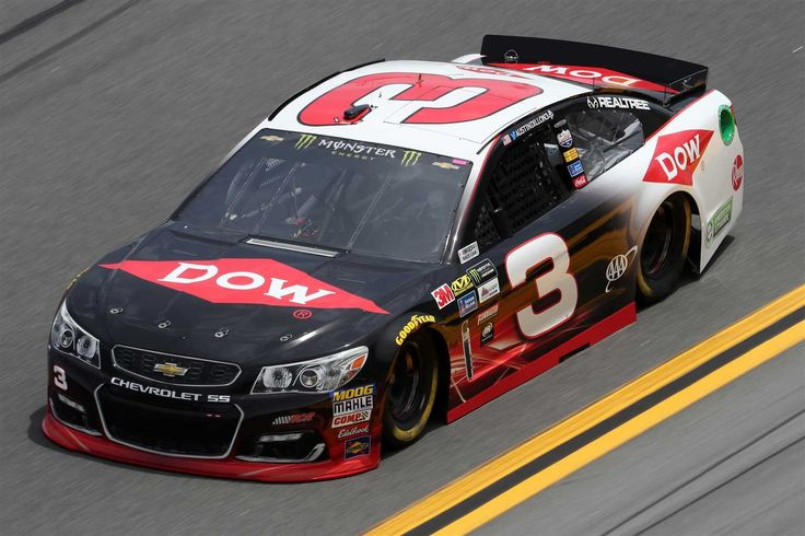 """Starting lineup for 2017 Daytona 500  Thursday, February 23, 2017  Austin Dillon will start 10th in the No. 3 Richard Childress 12th Chevrolet.   Crew Chief: Richard """"Slugger"""" Labbe   Spotter: Andy Houston  Photo Credit: Getty Images"""