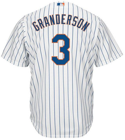 Majestic Men's Curtis Granderson New York Mets Replica Jersey