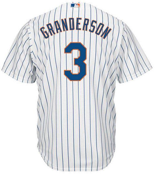 Majestic Men's Curtis Granderson New York Mets Replica Jersey