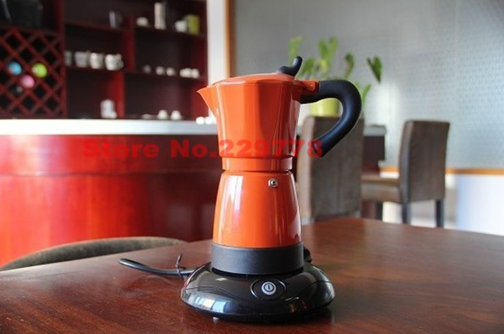 Find More Coffee Makers Information about Colorful electric Mocha coffee pot Aluminum stovetop coffee maker Red/Orange/Purple/ Yellow keep warm function,High Quality maker watch,China maker bread Suppliers, Cheap potted annuals from Luna sports on Aliexpress.com