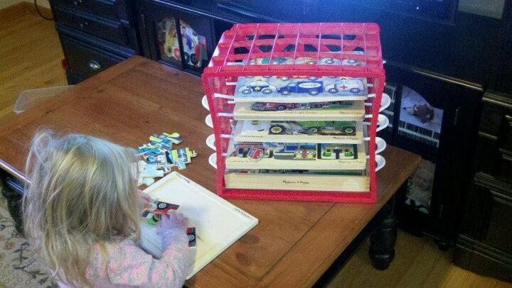 21 best puzzle storage diy and other inventive ways to for Re storage crate