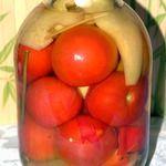 Маринованые помидоры, любимый рецепт