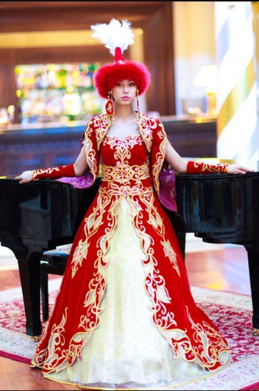 Kazakhstan dress style